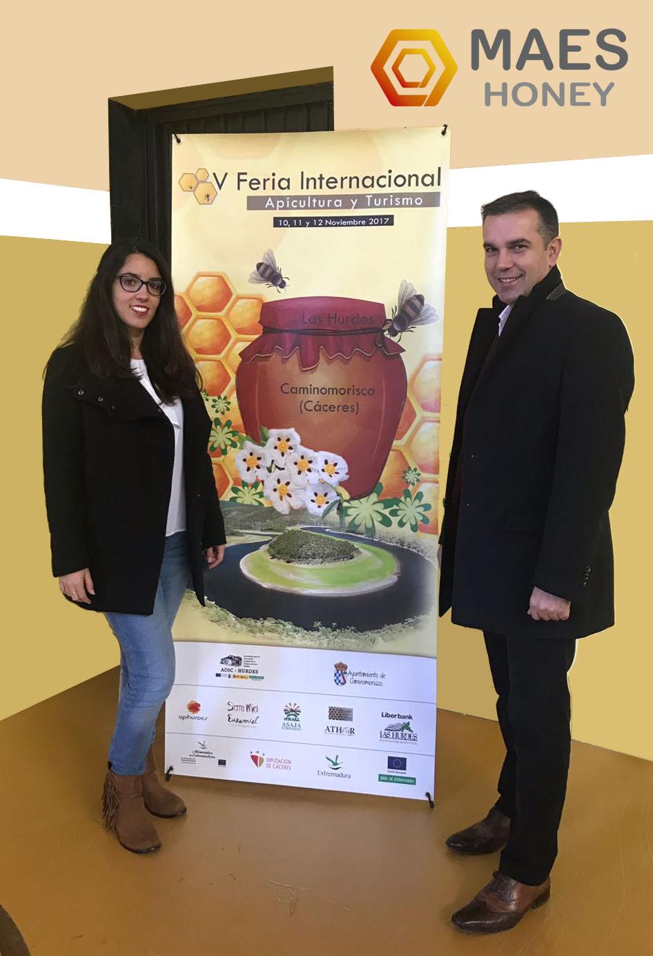 Maes-Honey-en-feria-apicultura-Hurdes-2017