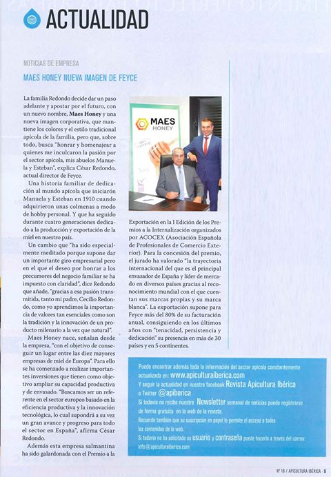 Revista Apicultura Iberica