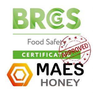 Certificación BRC aprovada. Maes Honey