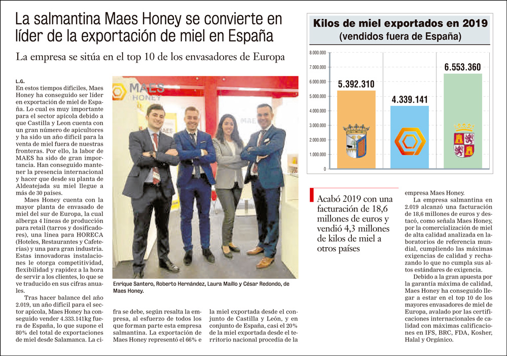 Maes-honey-exporter