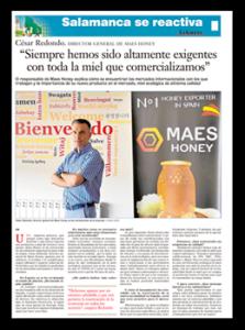 miniatura de nota de prensa en diario La Gaceta