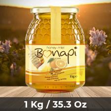 Miel Maes Honey Monoflorales Naranjo 1 Kg